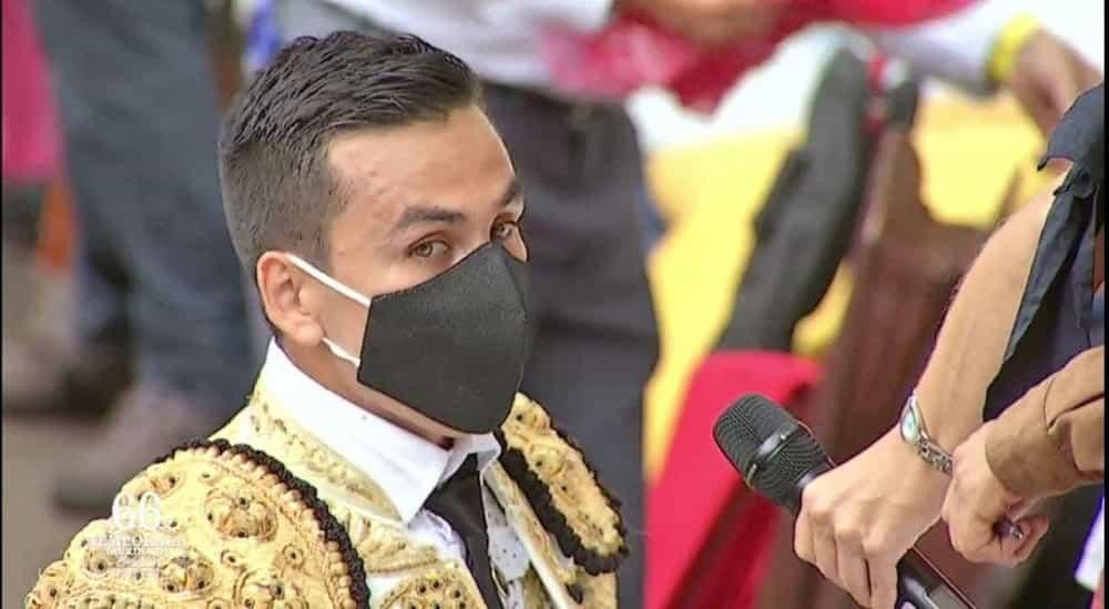 El torero sogamoseño Sebastián Hernández cortó una oreja en la segunda y última corrida de la versión 66 de la Feria de Manizales. Foto: archivo particular
