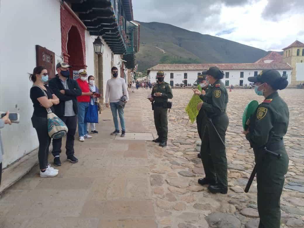 Declaran la alerta roja: el COVID está sitiando a Villa de Leyva 1