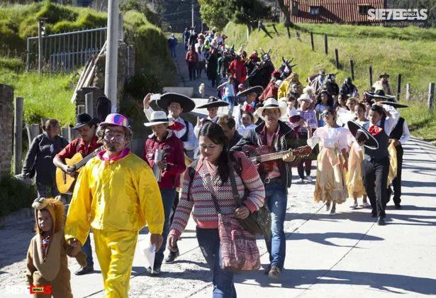 Los matachines de Mongua que se despiden en la fiesta de Reyes Magos #AquellosDiciembres 2