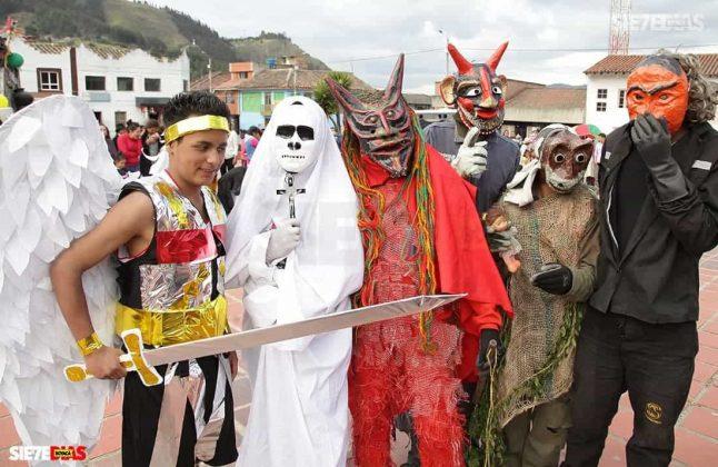 Los matachines de Mongua que se despiden en la fiesta de Reyes Magos #AquellosDiciembres 4
