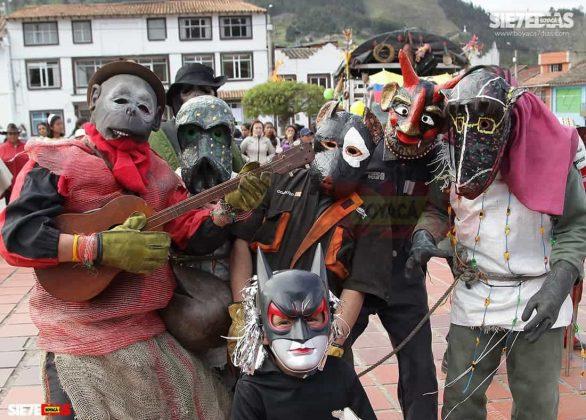 Los matachines de Mongua que se despiden en la fiesta de Reyes Magos #AquellosDiciembres 5