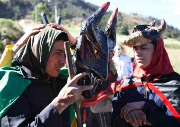 Los matachines de Mongua que se despiden en la fiesta de Reyes Magos #AquellosDiciembres 9