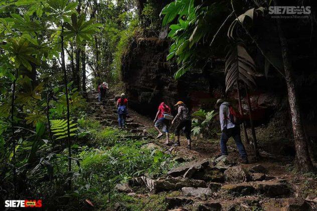 [Galería]- Salto de Candelas, espectacular atractivo de Boyacá, en Pajarito 4