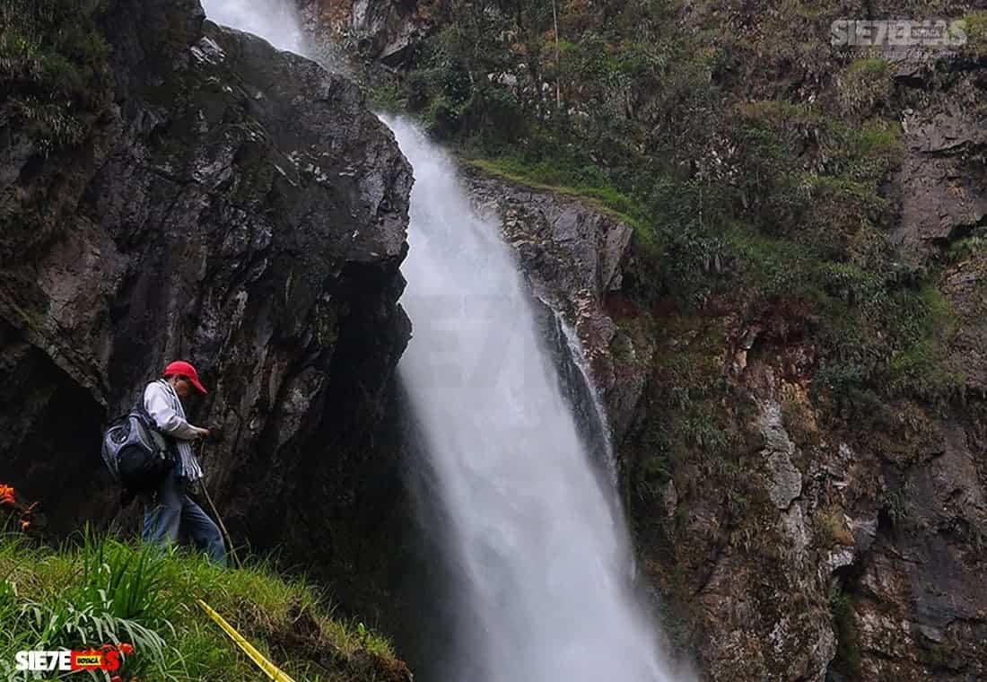 [Galería]- Salto de Candelas, espectacular atractivo de Boyacá, en Pajarito 1