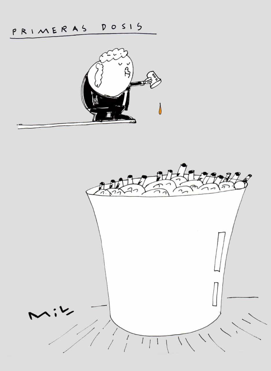 Primeras dosis - #Caricaturas7días 1