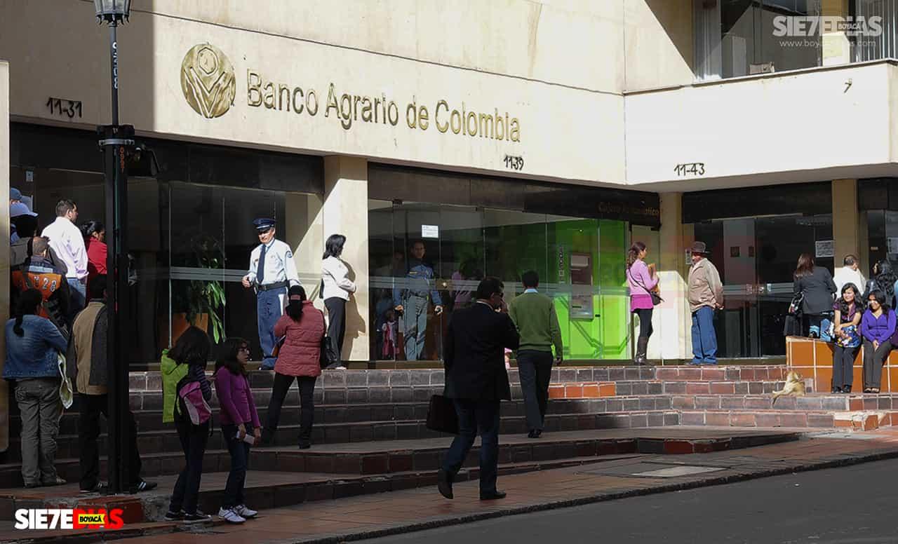 Solo con cédula en mano se podrá ingresar a los bancos en Tunja 1