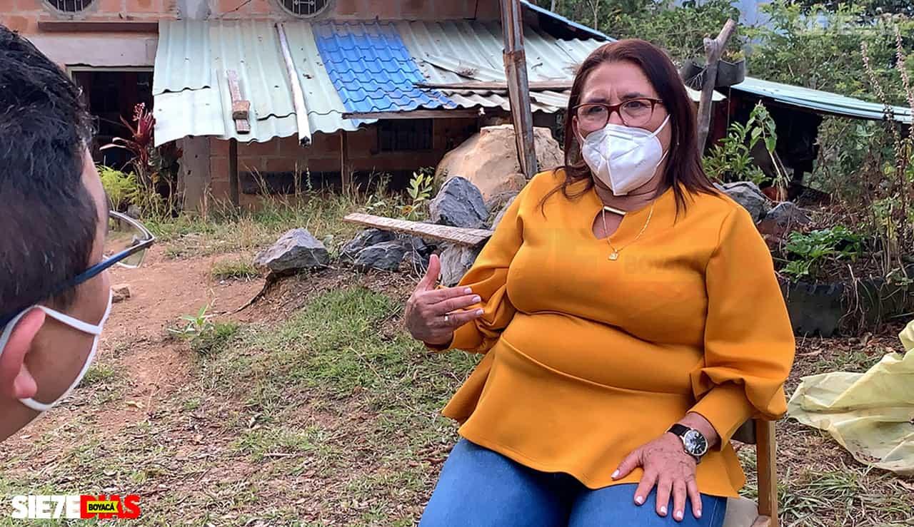 Cecilia Téllez, la primera contagiada con COVID-19 en Boyacá, cuenta el infierno que tuvo que vivir tras su positivo para el virus #LaEntrevista7días 1