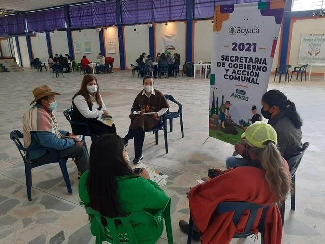 Feria de Servicios, de la Secretaría de Gobierno de Boyacá, hoy en el municipio de Pesca 1