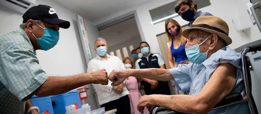 Colombia llegó al millón de vacunados contra el COVID-19 1