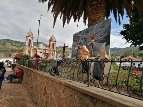 En Tibasosa recrean la Semana Santa con imágenes de pasajes bíblicos de la vida de Cristo 4