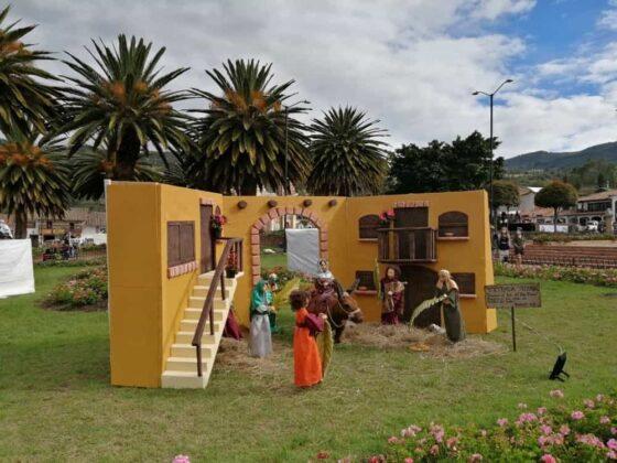 En Tibasosa recrean la Semana Santa con imágenes de pasajes bíblicos de la vida de Cristo 2