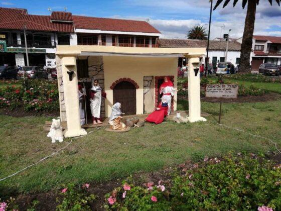 En Tibasosa recrean la Semana Santa con imágenes de pasajes bíblicos de la vida de Cristo 3