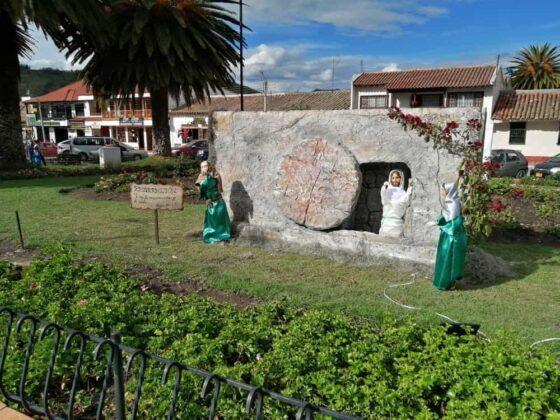 En Tibasosa recrean la Semana Santa con imágenes de pasajes bíblicos de la vida de Cristo 5