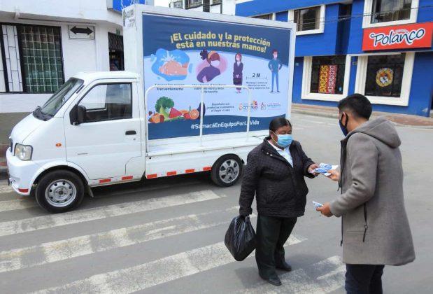 Samacá y su trabajo en equipo en medio de la pandemia 4