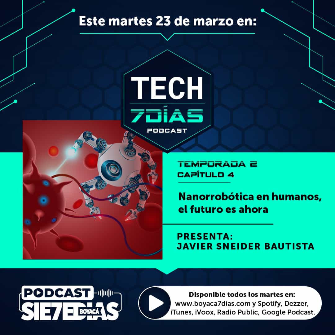 Tech 7 días - Temporada 2 Capítulo 4 - Nanorrobótica en humanos, el futuro es ahora 1