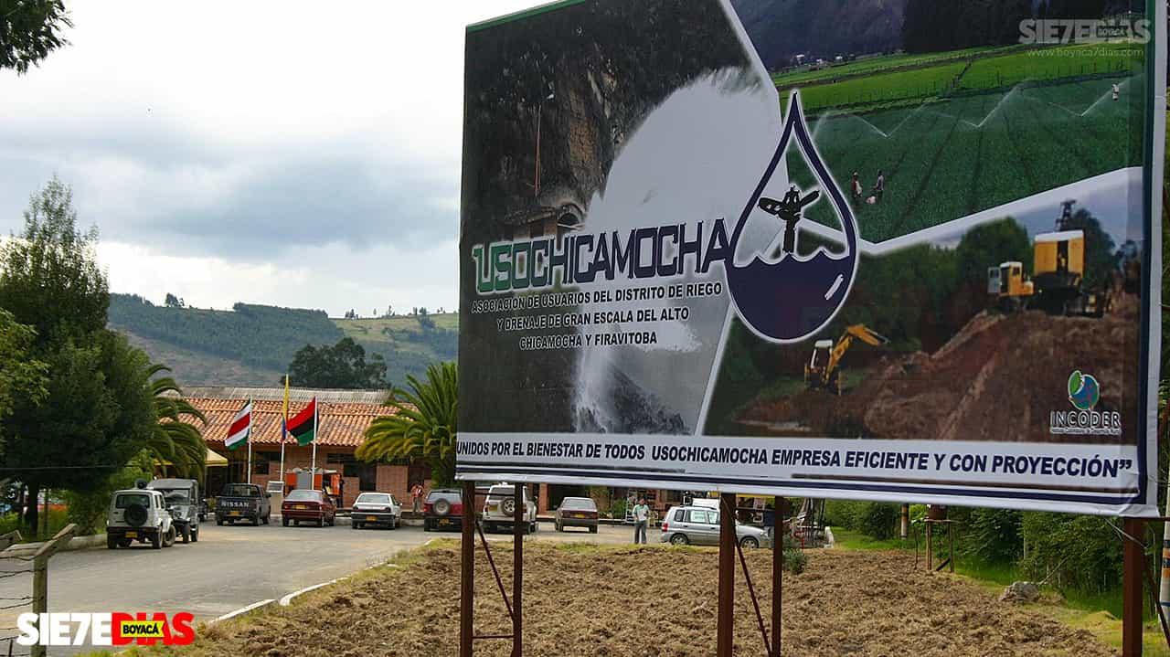 El distrito que lleva 40 años regando los cultivos del alto Chicamocha 1