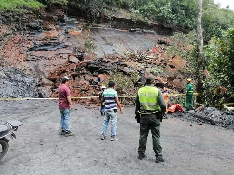 Deslizamiento generó tragedia en el occidente de Boyacá 1