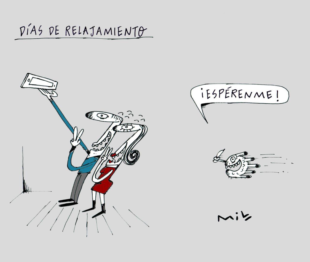 Días de relajamiento - #Caricaturas7días 1
