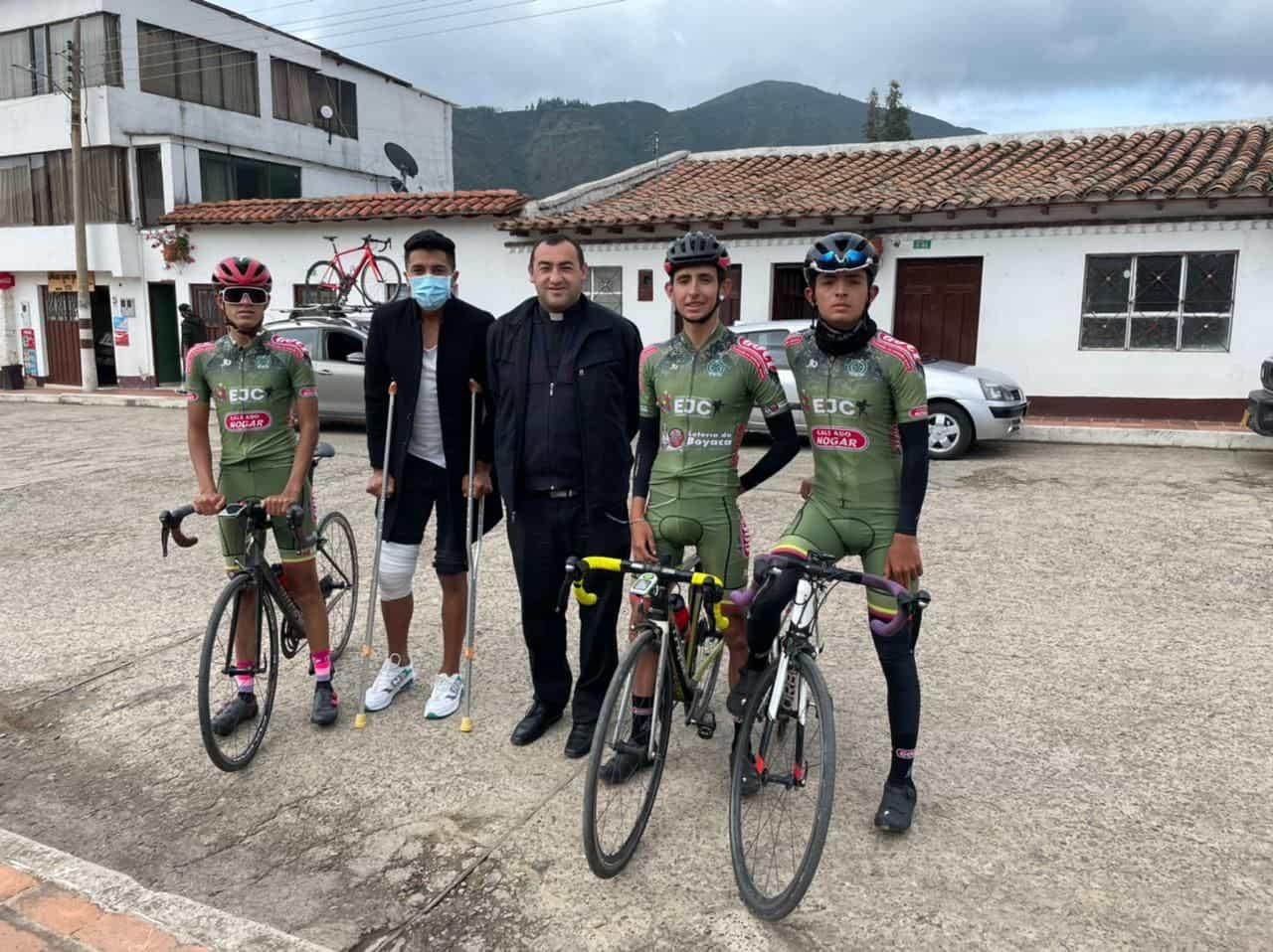 El equipo de Busbanzá, una de las cartas de Boyacá en la Vuelta al Tolima 1