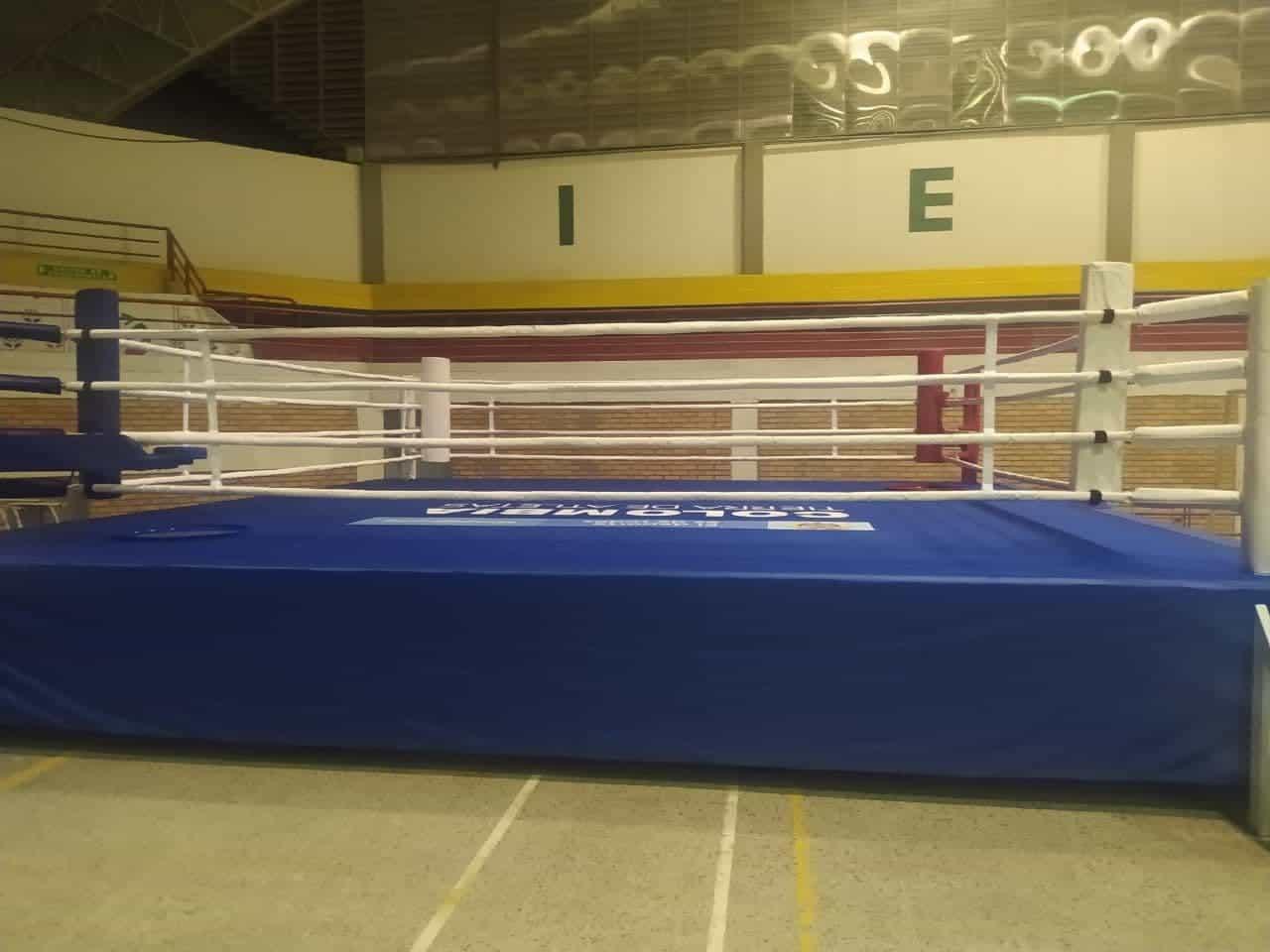 En un literal ring de boxeo convirtió la gerente el coliseo #Tolditos7días 1