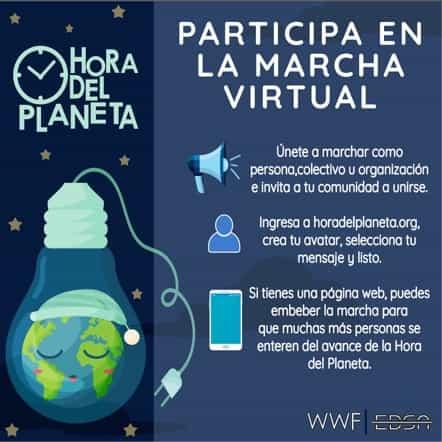 Invitación para que todos los boyacenses se unan a 'La Hora del Planeta 2021' 1