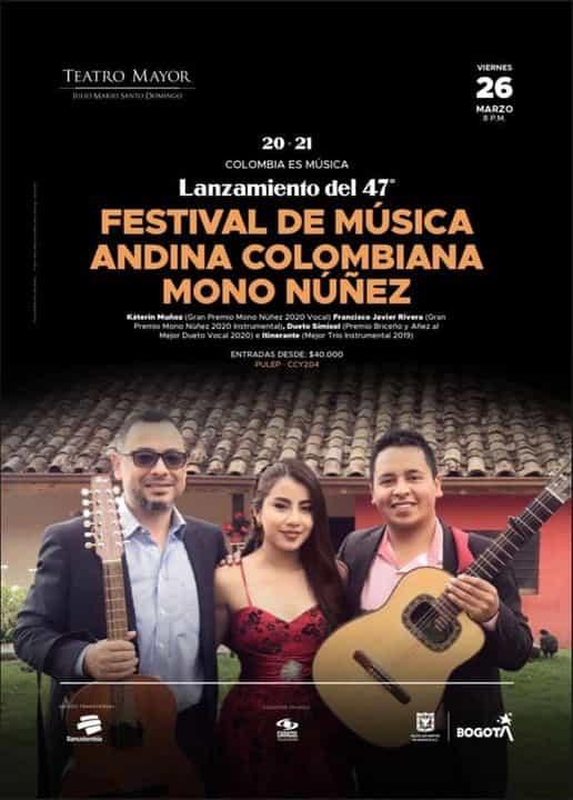 Este viernes en el Teatro Mayor Julio Mario Santo Domingo se hace el lanzamiento de la edición número 47 del Mono Núñez 2