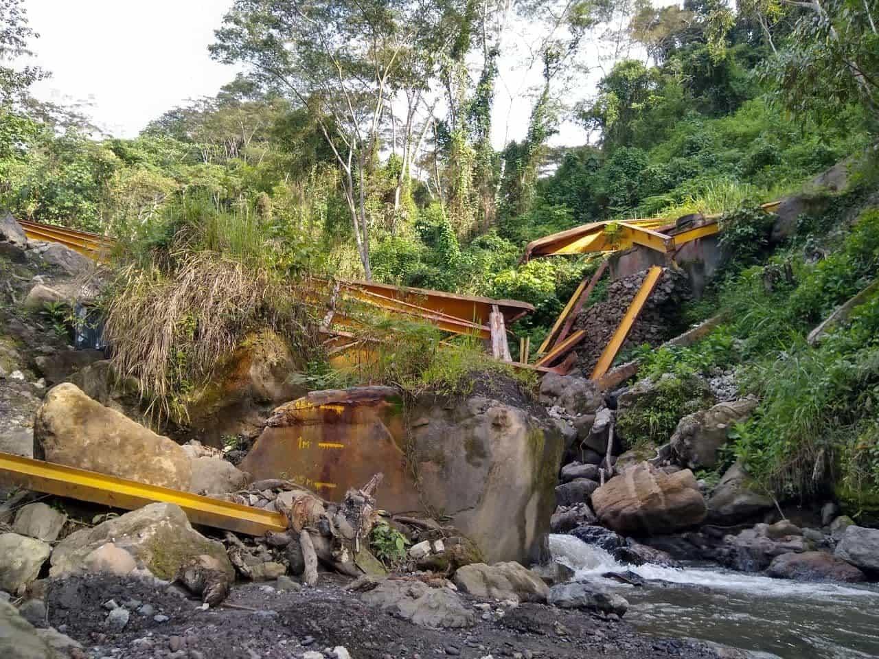 Los puentes que siguen quebrados en el occidente de Boyacá 2