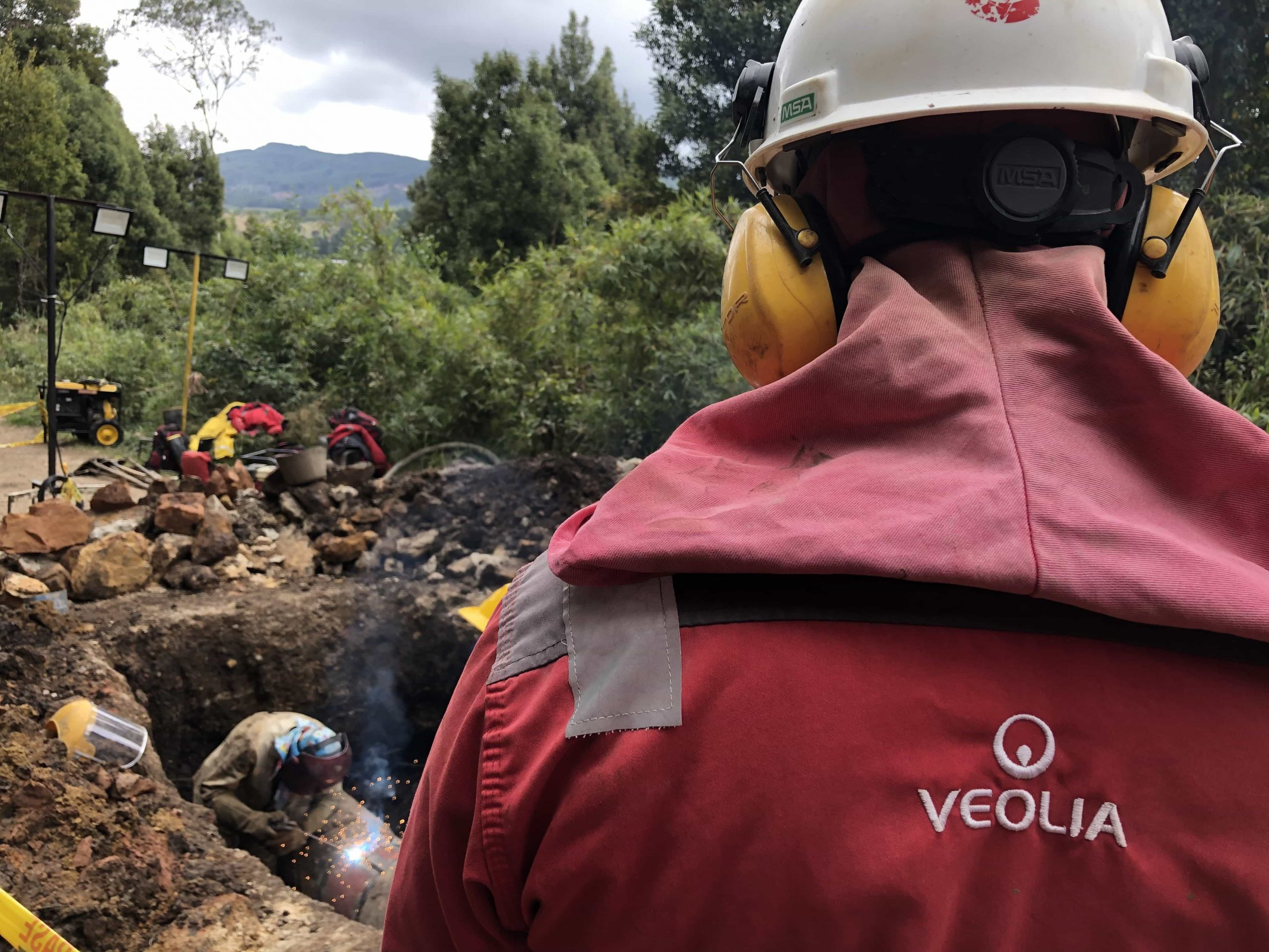 Cerca de 30 barrios y sectores de la capital boyacense sin agua por daños en tuberías 1