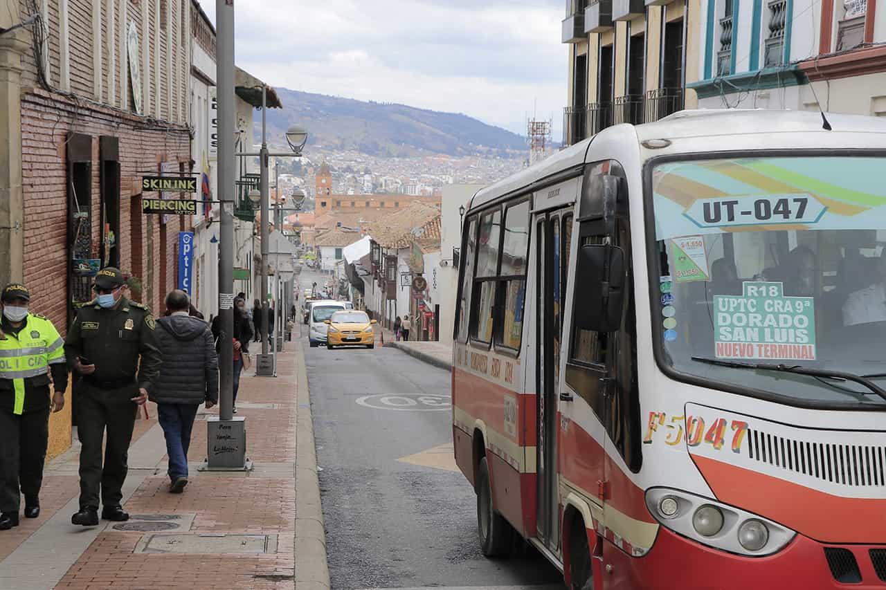 En 150 pesos subió el servicio de transporte público colectivo urbano en Tunja 1