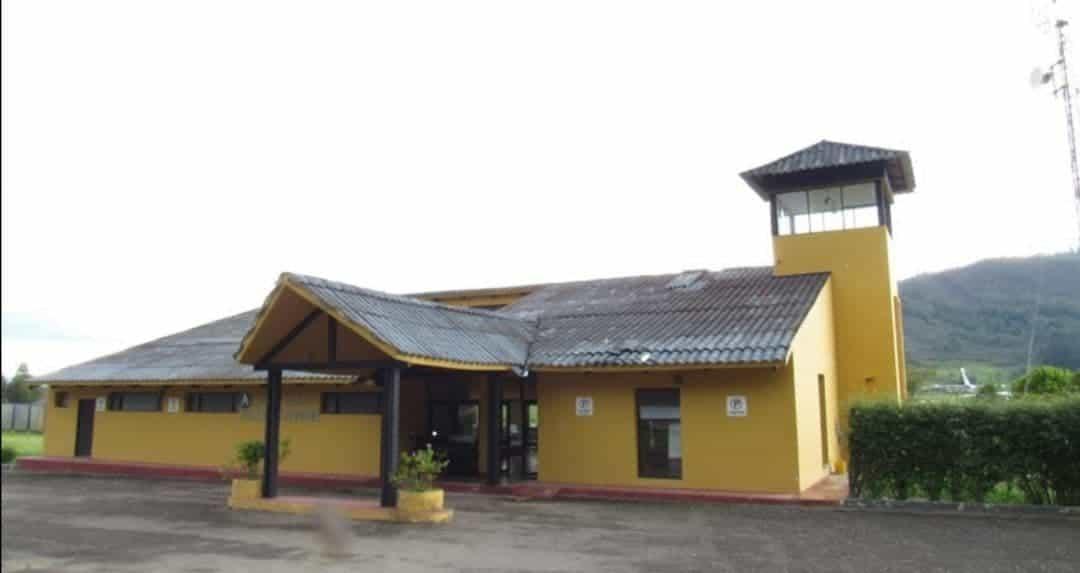 En el aeropuerto Juan José Rondón de Paipa se está haciendo una inversión de más de 17.000 millones de pesos. Foto: archivo particular