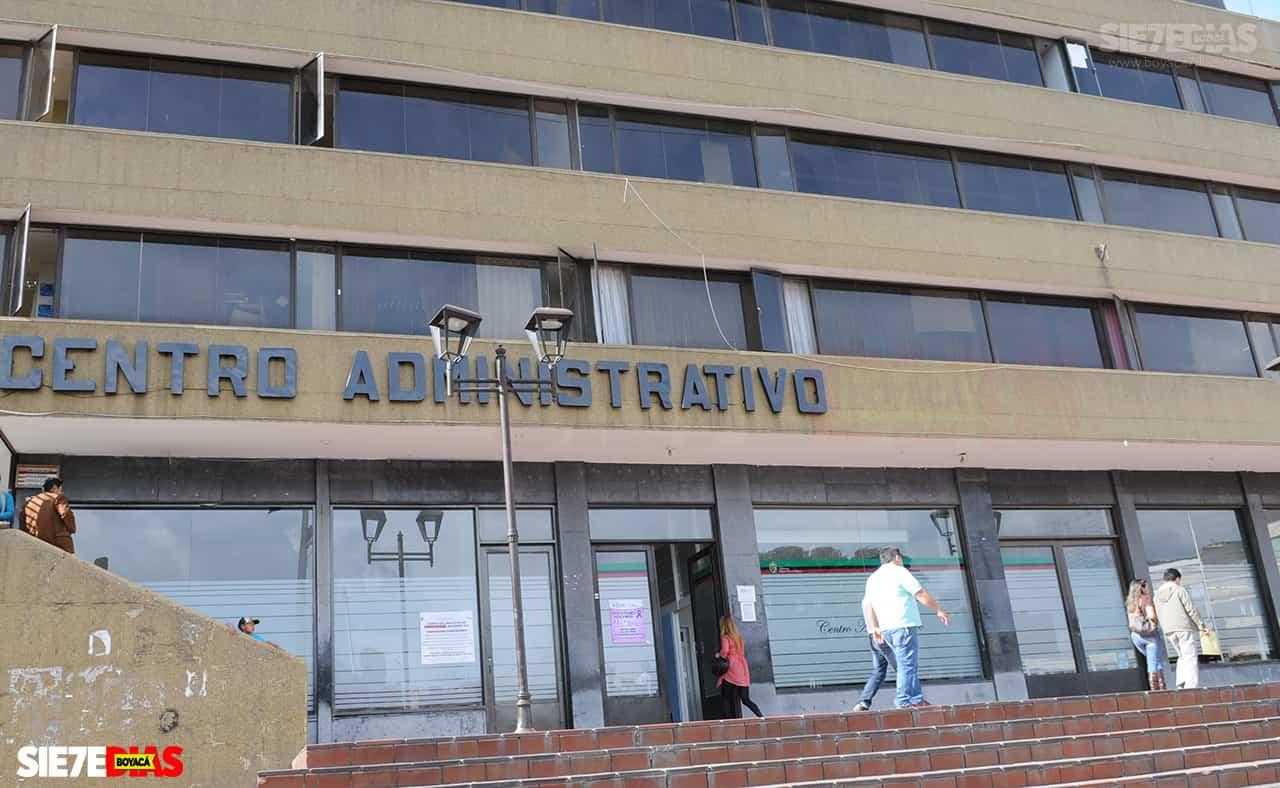 Edificio administrativo de la alcaldía de Duitama. Foto: archivo Boyacá Siete Días.