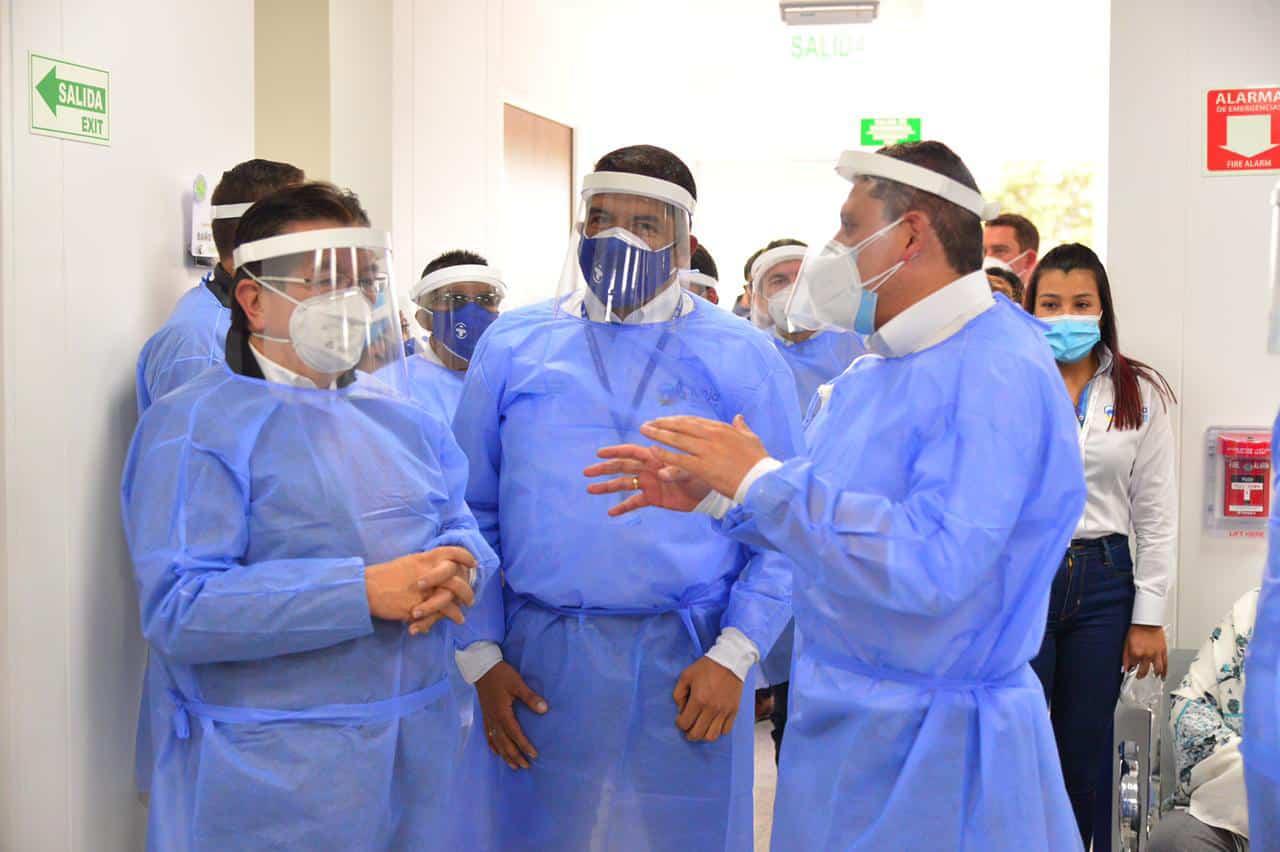 El Ministerio de salud felicitó la labor que se viene adelantando desde la Alcaldía liderada por el médico Alejandro Fúneme.