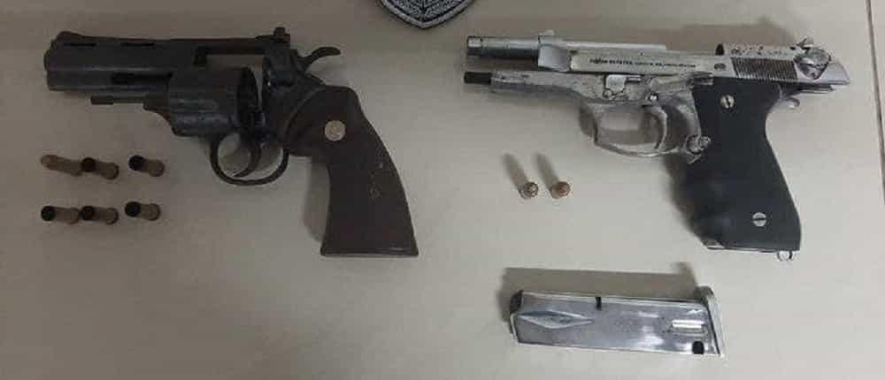 Pagará nueve años de cárcel por transportar cinco armas de fuego en su vehículo 1