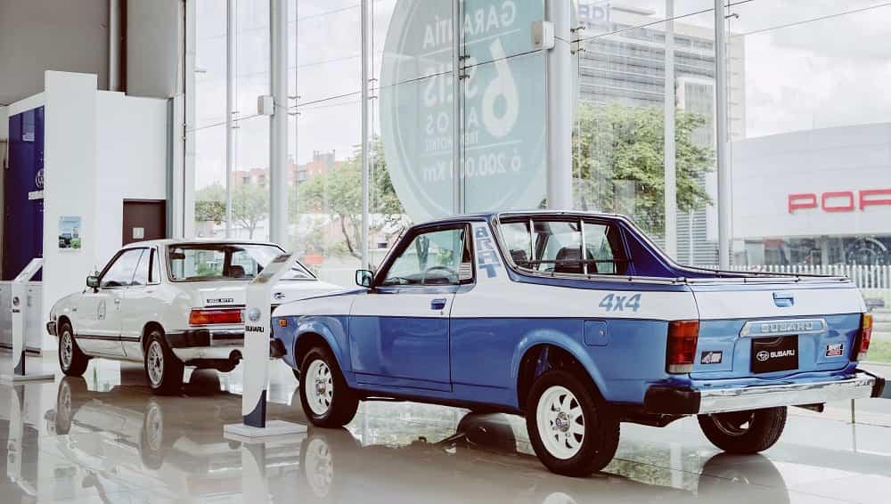 Subaru exhibe su legado histórico 3