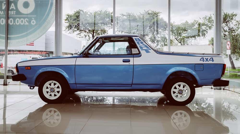 Subaru exhibe su legado histórico 4