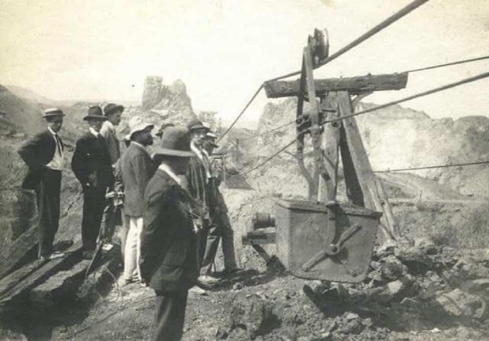 Un señor de apellido Alarcón fue el primer presidente en impulsar a los mineros a organizarse. Posteriormente lo hicieron los trabajadores de planta. Foto: archivo particular