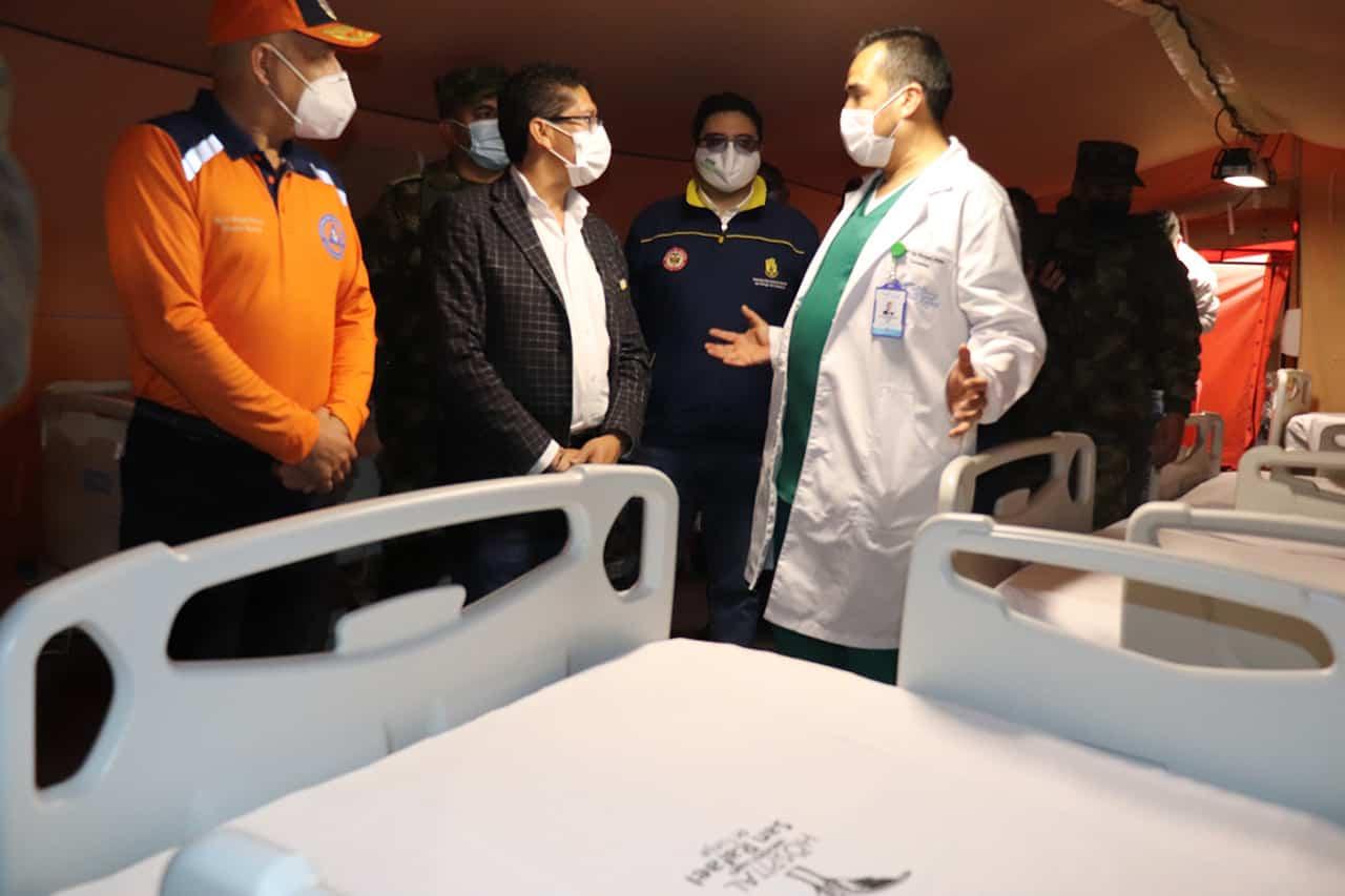 El Gerente del San Rafael nos cuenta en #LaEntrevista7días qué es el Hospital de campaña con el que buscan ayudar a enfrentar el tercer pico de la pandemia 1