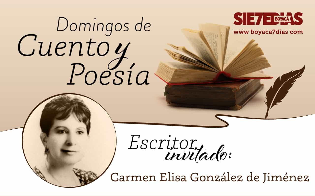 Poema 'Adiós Tunja' y Minicuento 'Incógnito' - Carmen Elisa González Jiménez - #DomingosDeCuentoYPoesía 1
