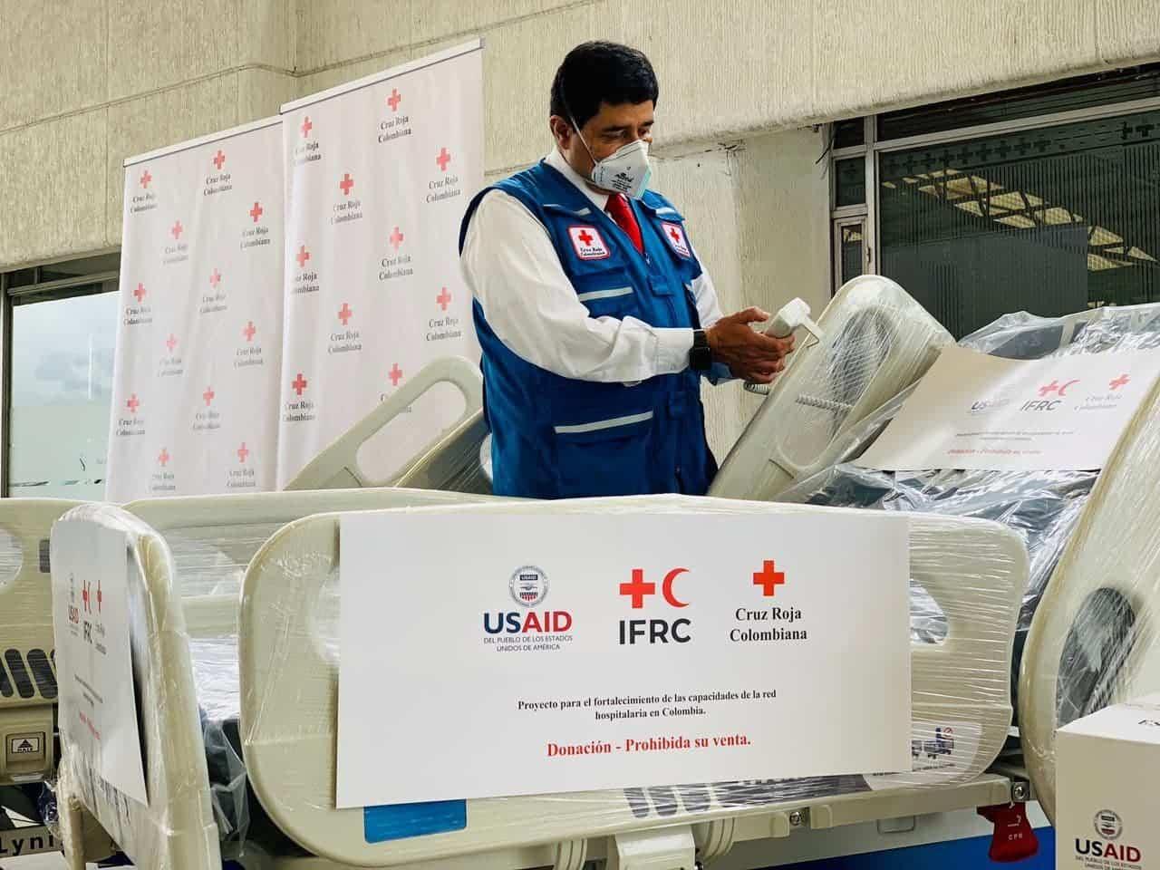Más de 108 equipos médicos entregará la Cruz Roja Colombiana a la red hospitalaria de Boyacá 1