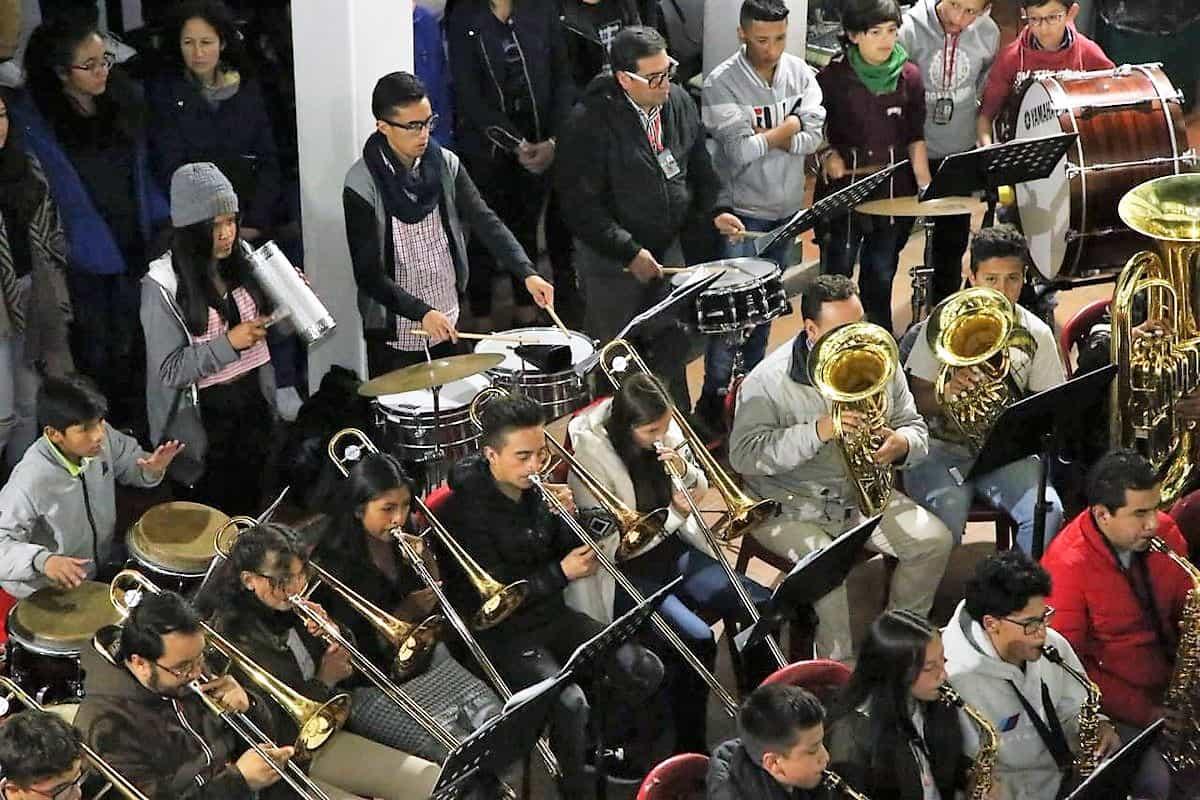 Aún hay cupos para acceder a las becas que brinda la alcaldía mayor de Tunja a niños y jóvenes que aspiren ingresar a la Escuela de Música de la ciudad 2