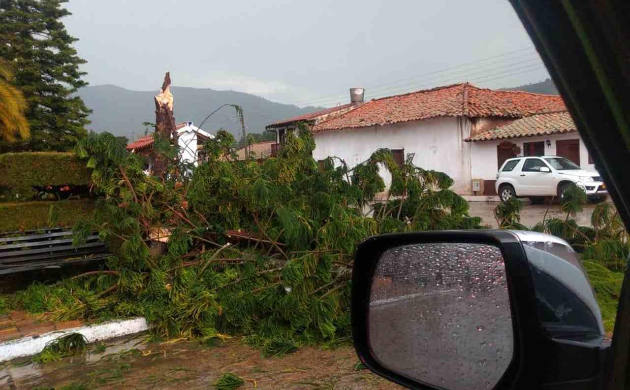 El diluvio que aterrorizó a Floresta la tarde de este domingo 2