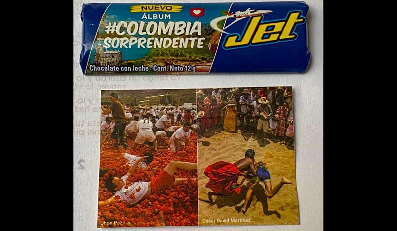 Homenaje a la Tomatina en las chocolatinas Jet #Tolditos7días 3