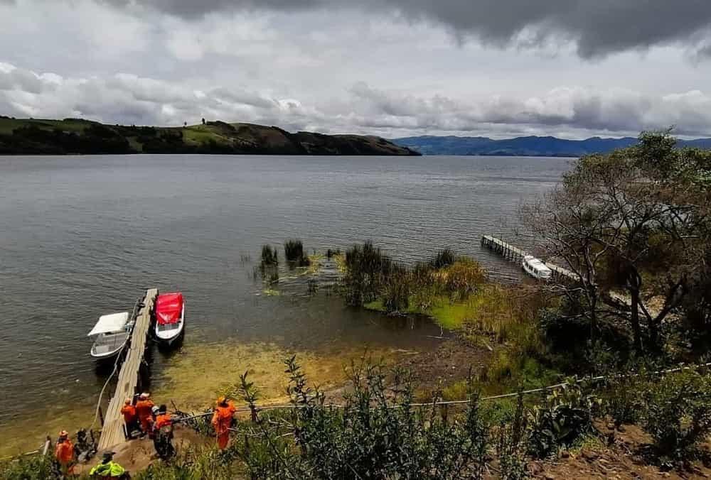 Por afectación a la ronda de protección del lago de Tota, Corpoboyacá impone medidas preventivas 1