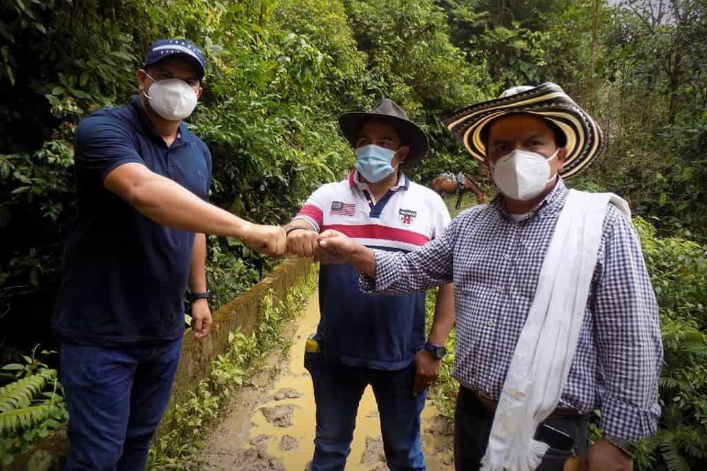 Tres alcaldes se unieron para conectar Boyacá y Casanare 1