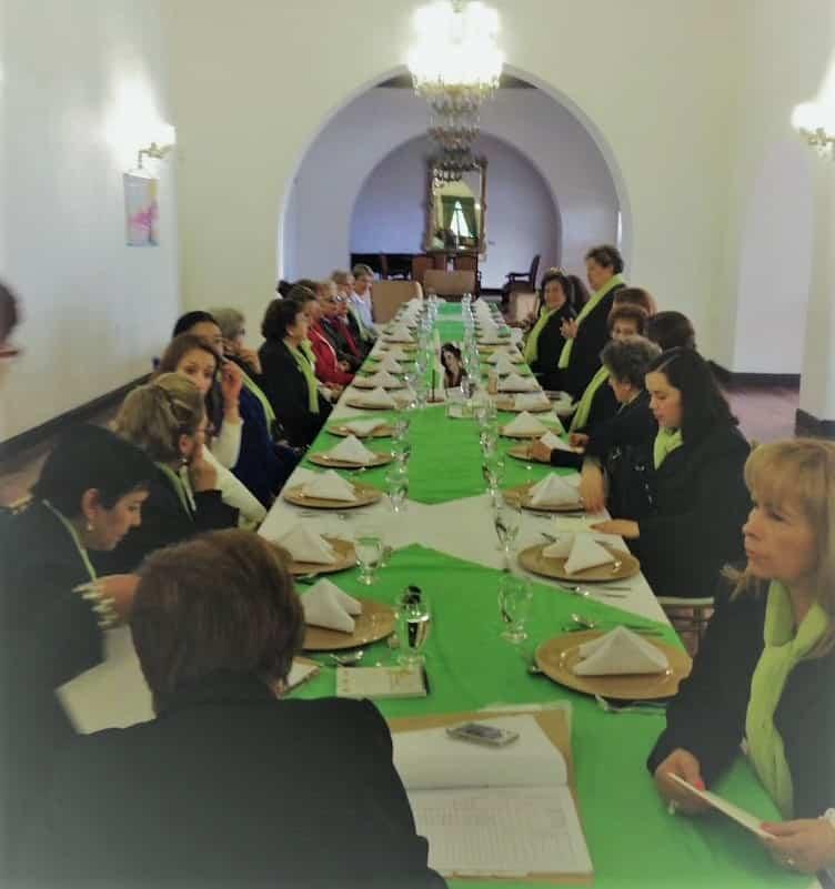 La Mesa Redonda Panamericana de Mujeres de Tunja prepara la celebración de sus bodas de cristal 2