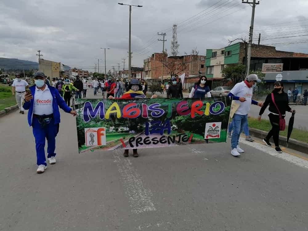 Los boyacenses dieron ejemplo de buen comportamiento en la jornada de protesta contra la reforma tributaria #LaEntrevista7días 3