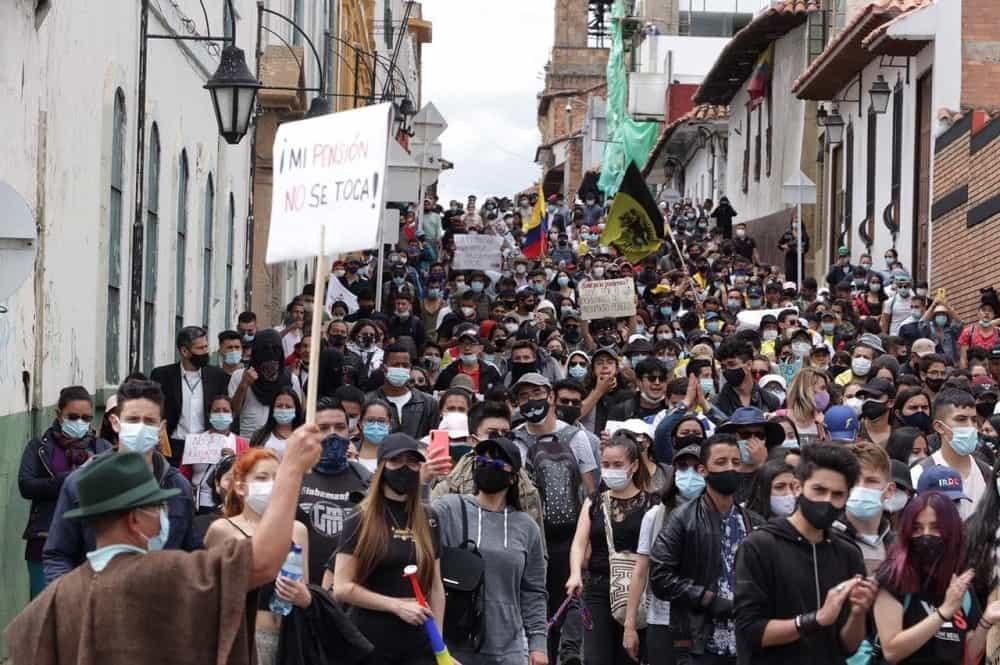 Los boyacenses dieron ejemplo de buen comportamiento en la jornada de protesta contra la reforma tributaria #LaEntrevista7días 2