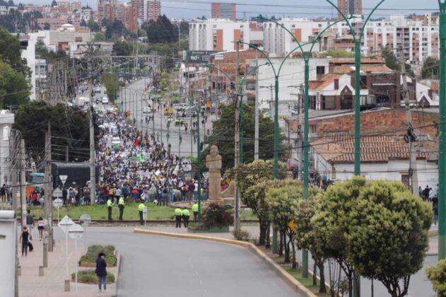 [Galería] - Así avanza la protesta en la capital de Boyacá 2