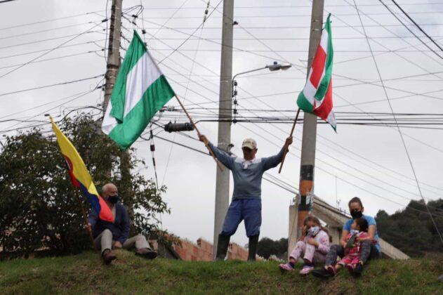 [Galería] - Así avanza la protesta en la capital de Boyacá 8