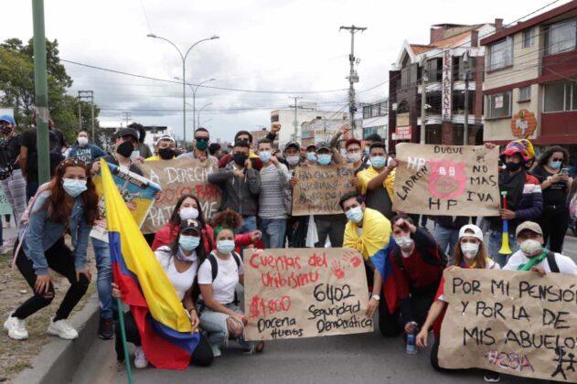 [Galería] - Así avanza la protesta en la capital de Boyacá 10